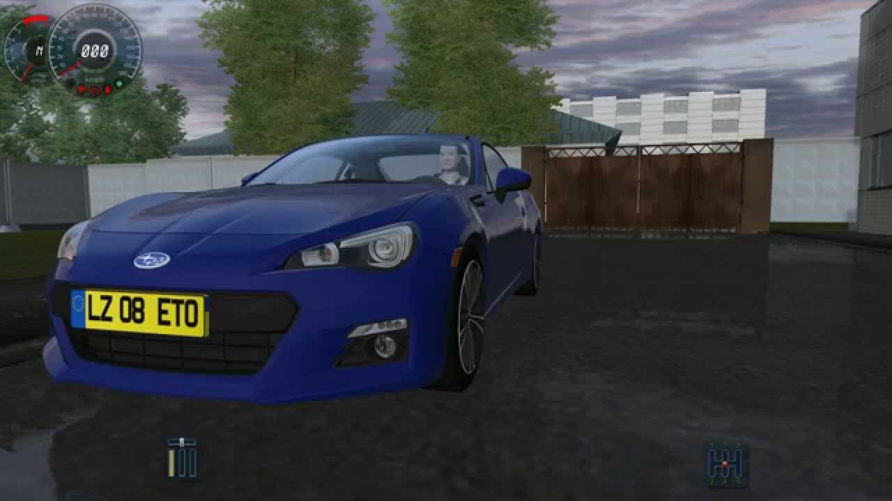 City Car Driving | Subaru BRZ | 1.2.2 / 2.2.7 - YouTube