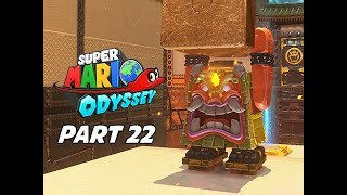 SUPER MARIO ODYSSEY Walkthrough Part 22 - Bowser's Kingdom  (Let's Play Commentary)