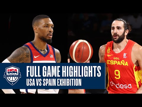 USA vs. Spain EXHIBITION | FULL GAME HIGHLIGHTS | JULY 18, 2021