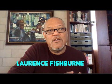 Laurence Fishburne talks