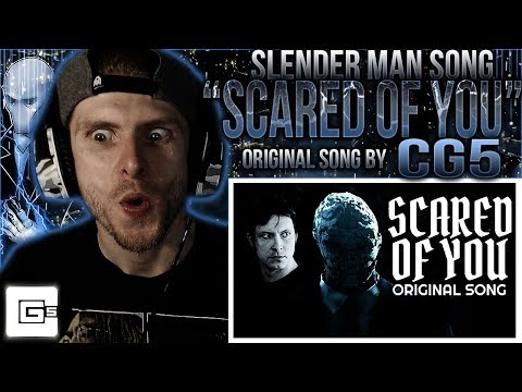 Vapor Reacts #641  SFM SLENDER MAN SONG ANIMATION Scared of You  CG5 ft Tobuscus REACTION!!