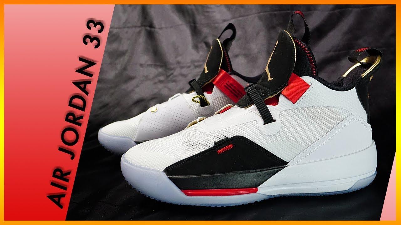 55263e46ccc1 Air Jordan 33  Future Flight  開箱微鞋評  Unboxing Review - YouTube