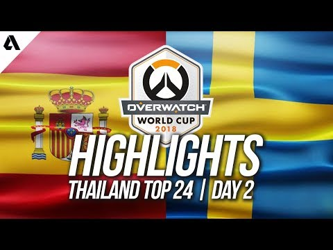 Spain vs Sweden | Overwatch World Cup 2018 Thailand Qualifier Day 2 thumbnail