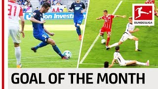 Top 10 Goals October - Vote for the Goal of the Month