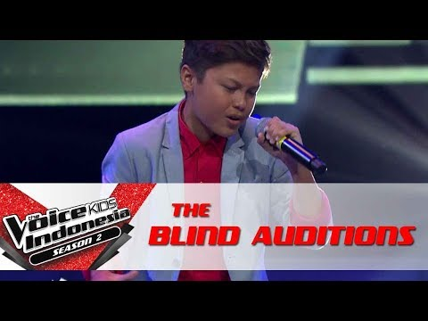 Andrew 'When I Was Your Man' | Blind Audititions | The Voice Kids Indonesia Season 2 GTV 2017