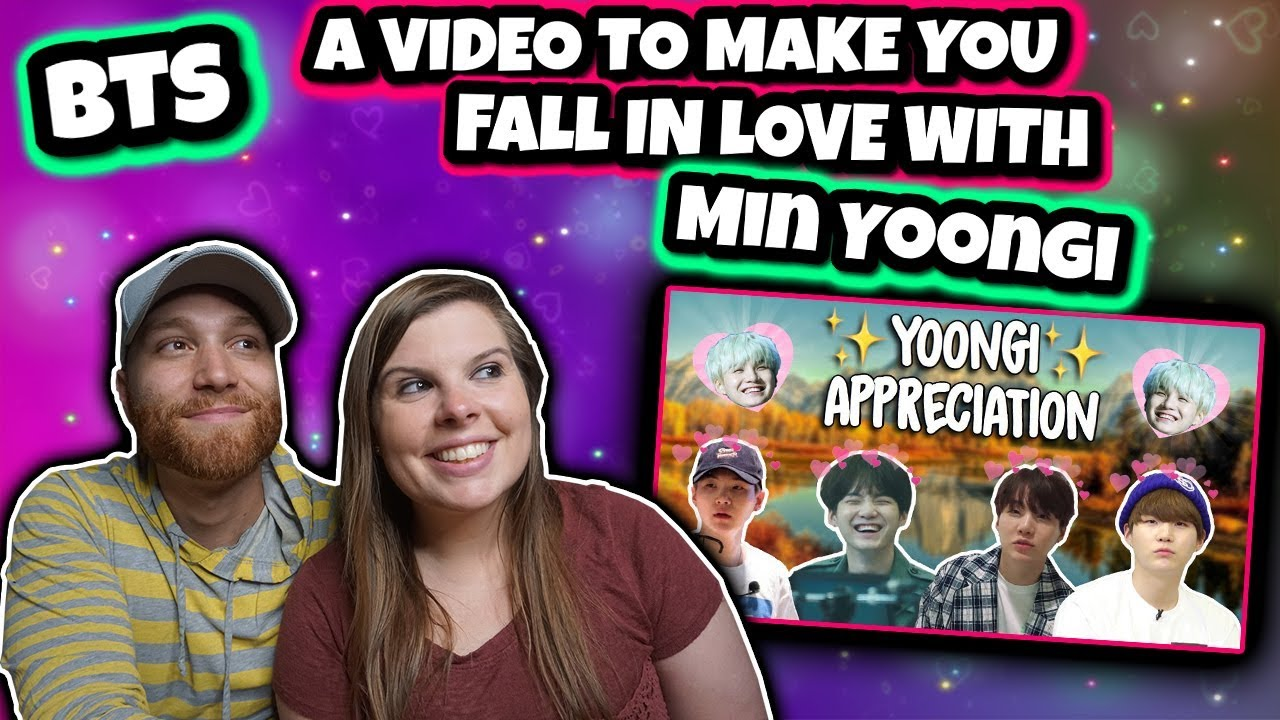a video to make you fall in love with Min Yoongi Reaction