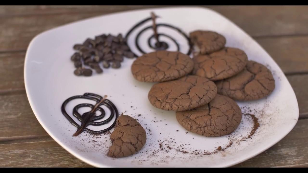 Yoğun Çikolatalı Kurabiye