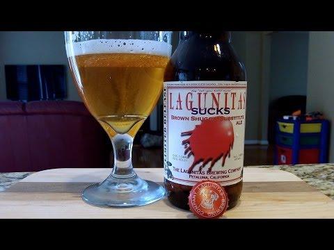 Lagunitas SUCKS Brown Shugga' Substitute Ale (7.85% ABV) DJs BrewTube Beer Review #431
