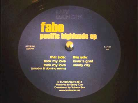 Fabe took my love jakobin domino remix luvd02