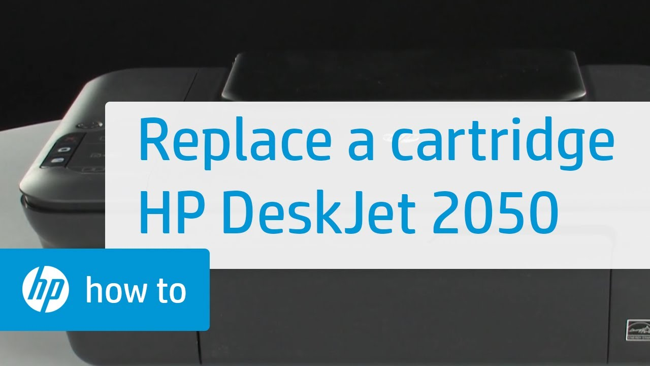 Replacing A Cartridge Hp Deskjet 2050 All In One Printer