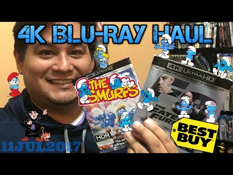 "4K Blu-Ray Haul | ""The Fate of The Furious"" & ""SMURFS The Lost Village"""