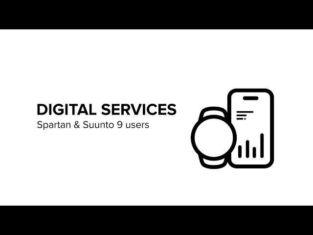 Digital Services - How to get started: Spartan/Suunto 9