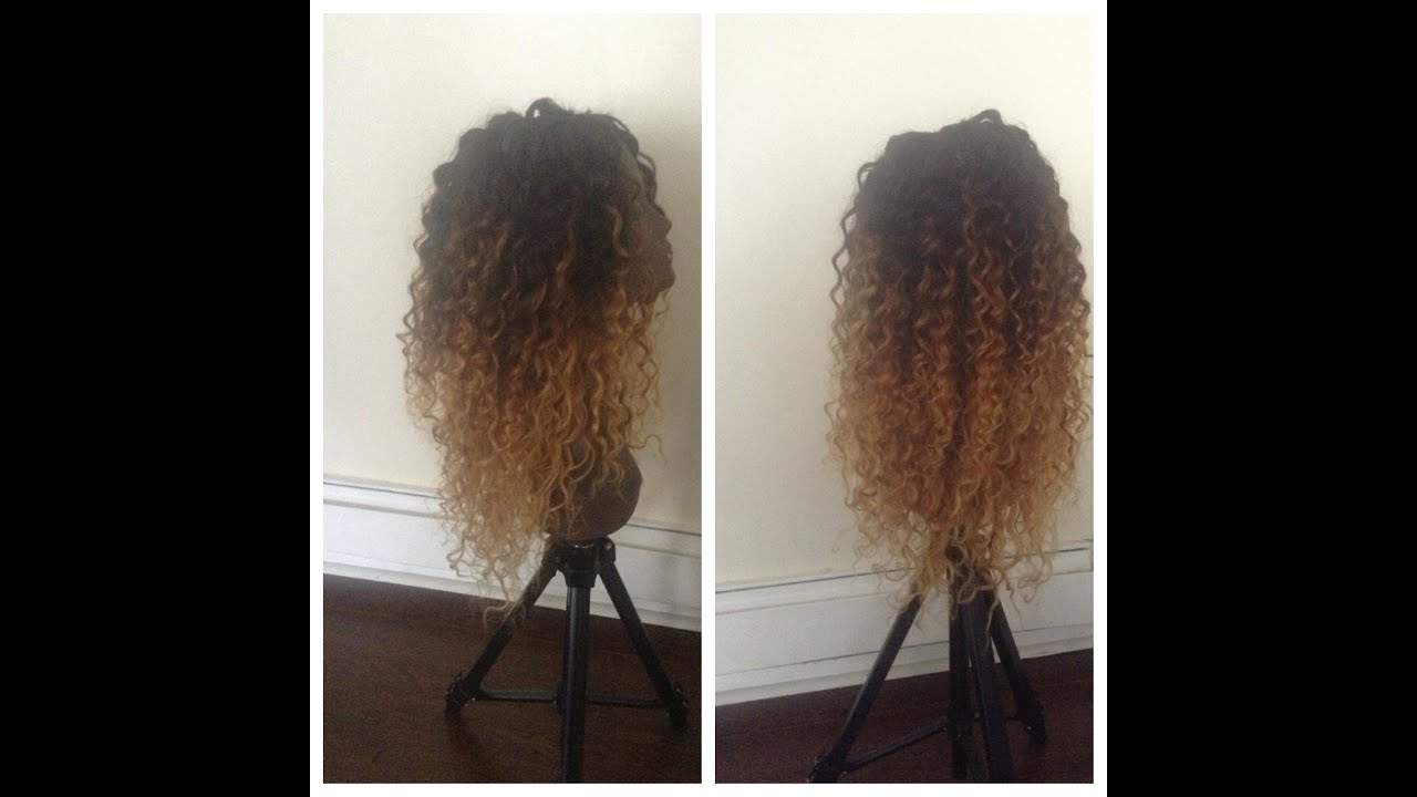 Curly Hair Ombre Diy Queen Weave Beauty Ltd