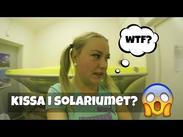 KISSA I SOLARIUMET? l Vlogg