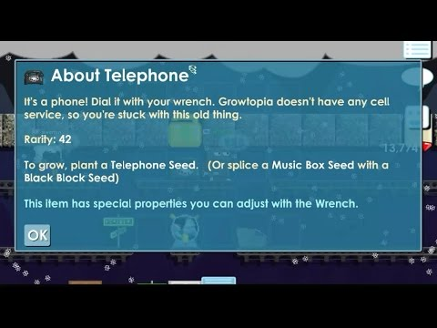 Growtopia How to Make Telephone (SystemsUpdate)*New