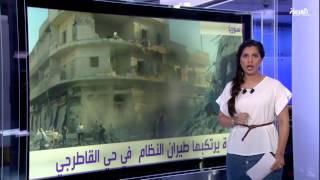 #أنا_أرى جرحى بقصف صاروخي لقوات النظام على مخيم درعا