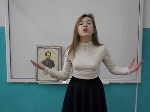 Изображение предпросмотра прочтения – АнастасияБерезина читает произведение «Я не унижусь пред тобой» М.Ю.Лермонтова