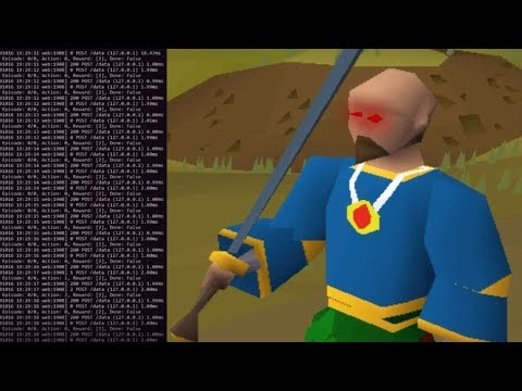 This Guy Made A Machine Learning RuneScape PVP Bot