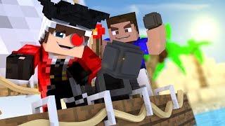 МЫ С ВЛАДУСОМ СТАЛИ ПИРАТАМИ КАРИБСКОГО МОРЯ! БЕРЕМ НА АБОРДАЖ ДРУГИХ ПИРАТОВ! Minecraft