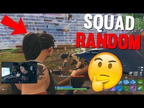 La persona mas rara que conoci en Squad Random.....
