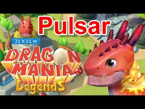 Pulsar Dragon Breeding + Rocker Enchantment! - Dragon Mania Legends #326
