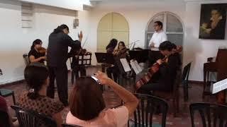 Oiseaux si tous les ans (K.307) - W.A. Mozart / Arreglo para Voz y Trío de Cuerdas - Nilo Márquez