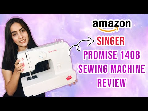 Singer promise 1408 sewing machine review for beginners in Hindi