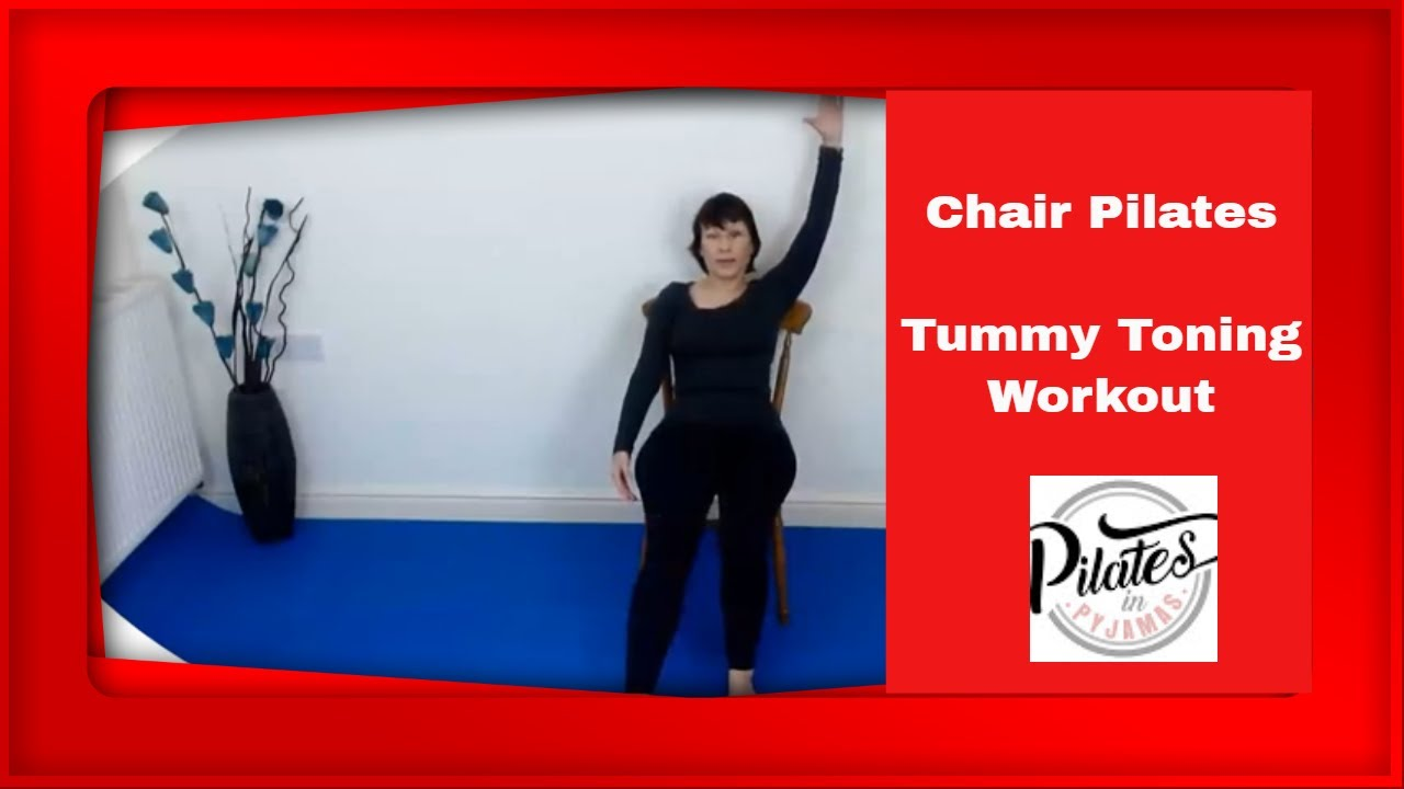 Wednesday workout - 15  minutes Chair Pilates for a tighter tummy