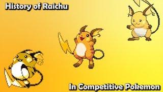 How GOOD was Raichu ACTUALLY? - History of Raichu in Competitive Pokemon (Gens 1-6)