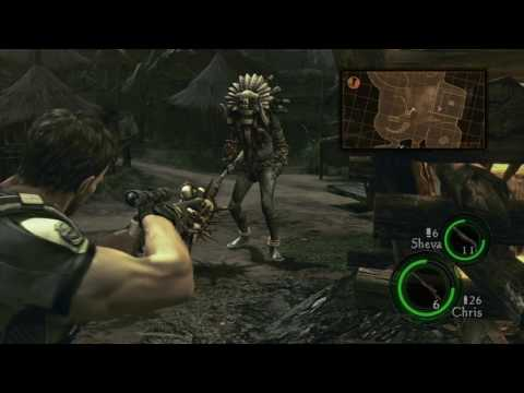 Let's Play Together RE5 Pt.12: The Village People