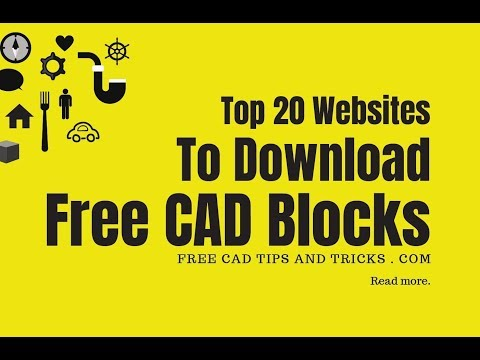 CAD Blocks Free Download Top 20 Websites AutoCAD Blocks Download | New CAD Blocks Download