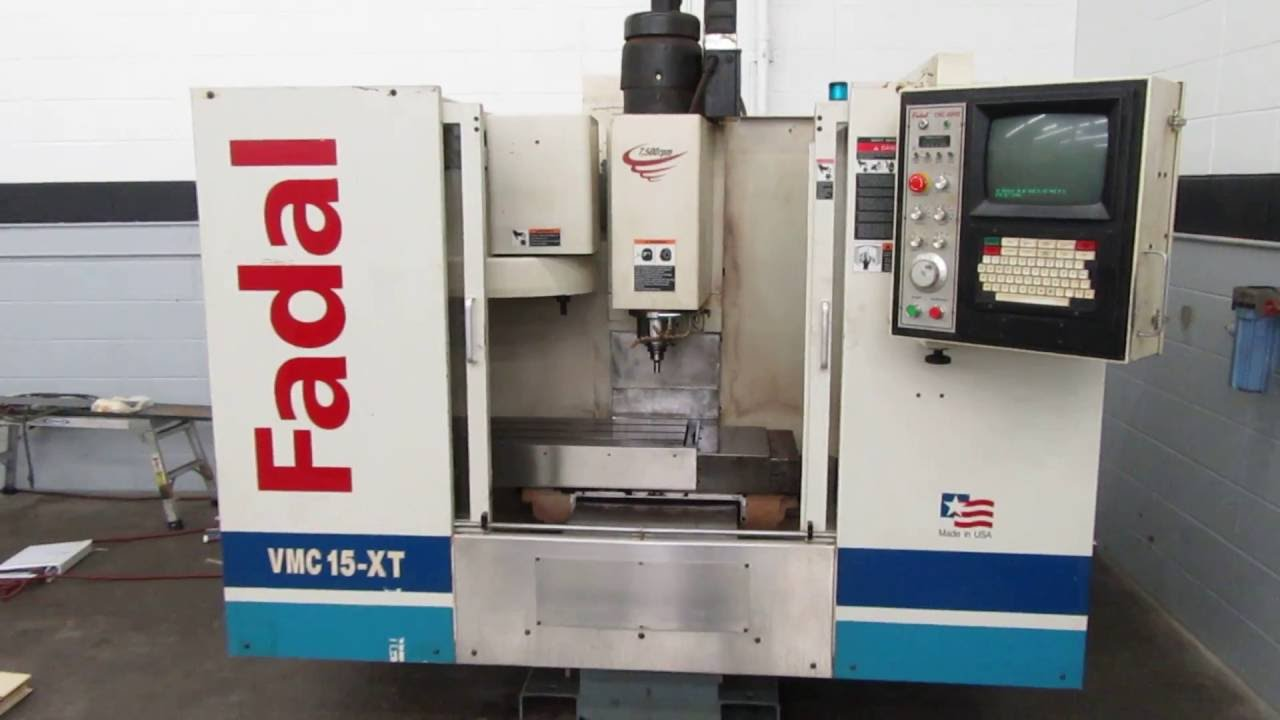 Fadal VMC 15XT CNC Vertical Machining Center w New Spindle Cartridge