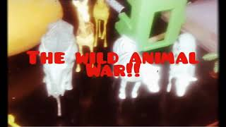 The wild animal war(toy only😊)im just boring thats why i made this hehe