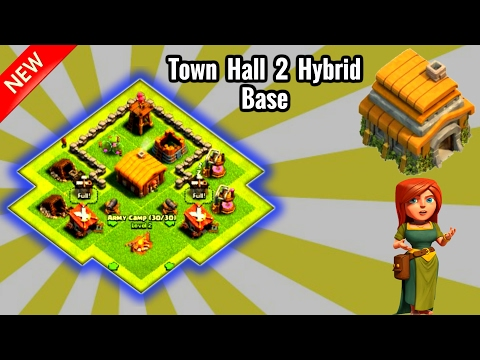 Best Town Hall 2(Th2) Hybrid Base-Clash Of Clans