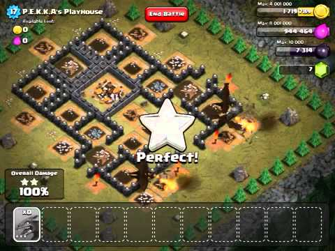 Clash of Clans - P.E.K.K.A'S Playhouse - 100%