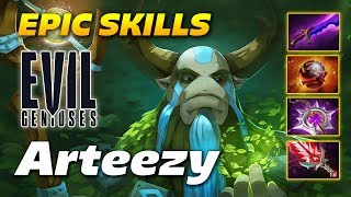 Arteezy Nature's Prophet - MAD SKILL!!! - Dota 2 Pro Gameplay