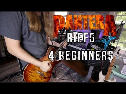 Pantera Riffs For Beginners