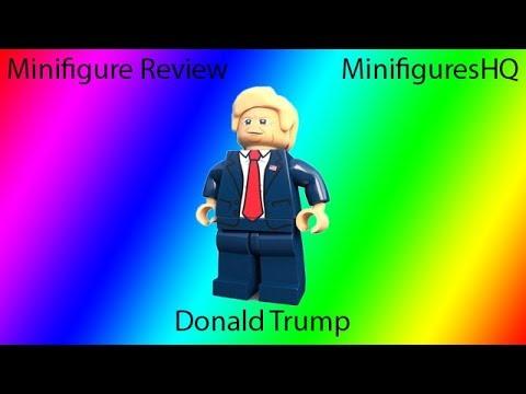 Custom Lego Minifigure Review: MinifiguresHQ Donald Trump