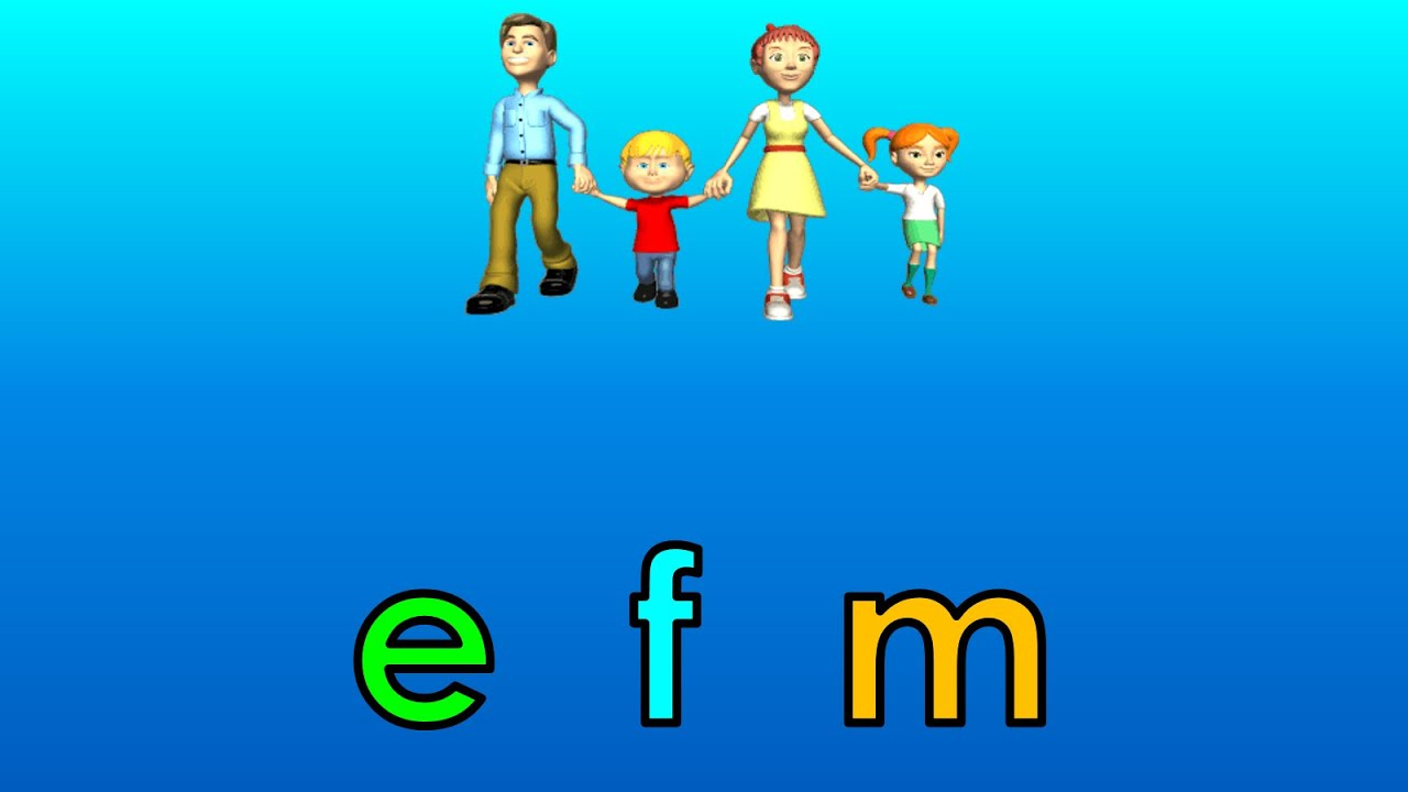 Cartoon Characters 8 Letters : What is the beginning sound? 8 letters e to h youtube