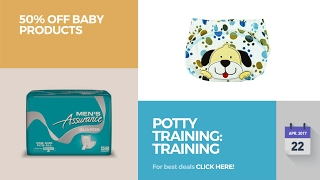 Potty Training: Training Pants 50% Off Baby Products