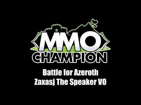 Patch 8.1.5 - Zaxasj the Speaker VO