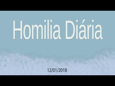 Homilia diária - 12 de janeiro