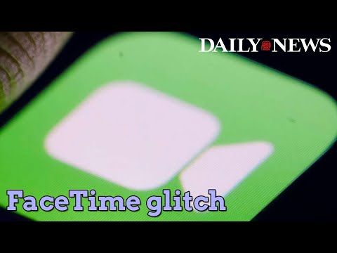 FaceTime glitch let users eavesdrop on people they call