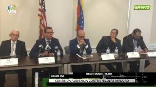 EE.UU.- TSJ en el exilio ofreció detalles sobre la sentencia impuesta a Nicolás Maduro  - VPItv