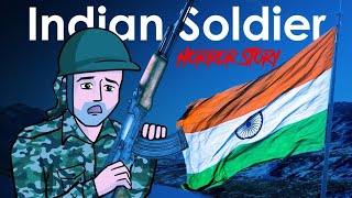 Gambar cover Republic Day Special | Indian Soldier Horror Story in Hindi | KM E21 🔥🔥🔥
