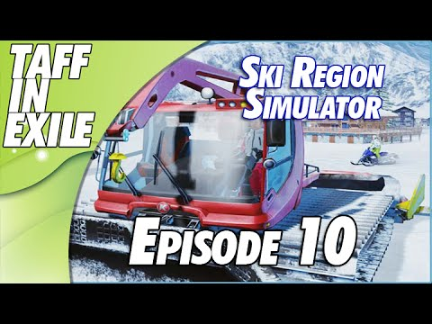 Ski Region Simulator - Clearing up after the Snow!