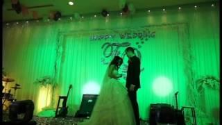 francis chong and kimquy in wedding danang
