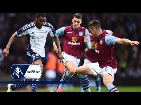 Aston Villa 2-0 West Bromwich Albion – FA Cup Sixth Round | Goals & Highlights