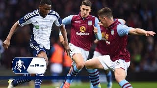 Video Gol Pertandingan West Bromwich Albion vs Aston Villa