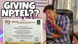 NPTEL exam? MY EXPERIENCE on it!! What is the paper pattern of nptel exam ? | Benifits of nptel exam thumbnail